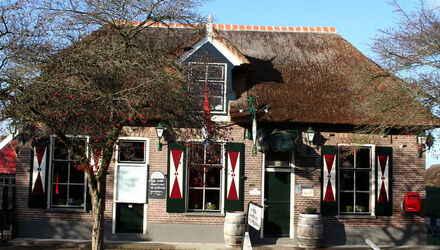 Nationale Dinerbon Giethoorn Grand Cafe Fanfare
